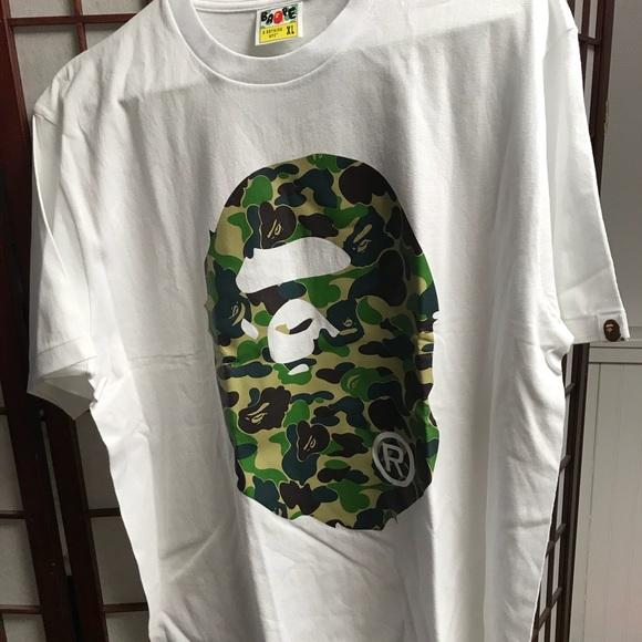 08c14eb5 Bape Shirts | 1st Camo Ape Head Tee Online Exclusive So | Poshmark